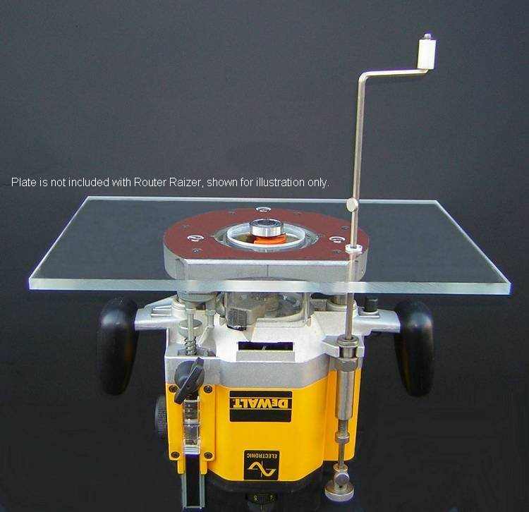 Router raizer table adjustmentg 40433 bytes typical router table insert installation shown greentooth Choice Image